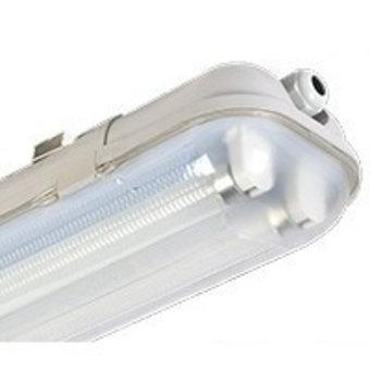 Led Tube Armatuur 120cm, IP65 Waterbestendig (2 Tubes)
