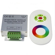 RF Led Strip controller + Touch/Drukknop afstandsbediening voor RGB Led Strips