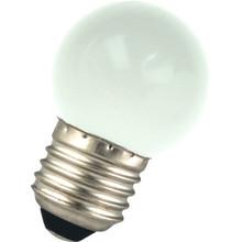 E27 1w Bol Lamp, 45 Lumen, Matte Kap
