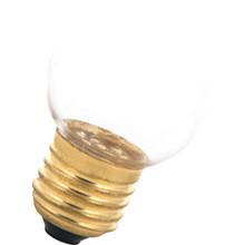 E27 1w Bol Lamp, 30 Lumen, Transparante Kap
