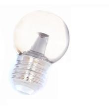 E27 1,5w Bol Lamp, 90 Lumen, Transparante Kap met lens