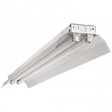 Led Tube Trog Armatuur 120cm met Reflectorkap , IP20 ( 2 led tube)