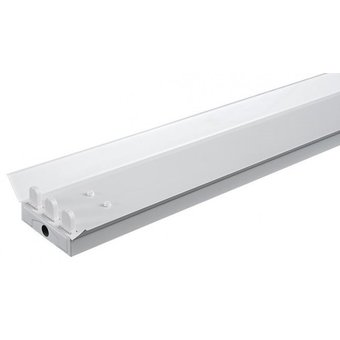 Led Tube Trog Armatuur 150cm met Reflectorkap , IP20 ( 3 led tube)