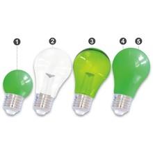 E27 LED Bollamp Groen