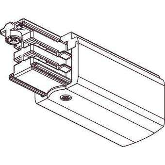 3 Fase Rail 4 wire Aansluitblok Wit