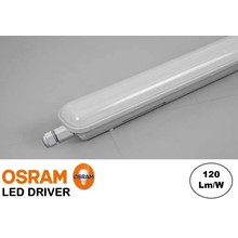 Led Tri Proof 123cm, 36w, 4320 Lumen (120lm/w), Osram LED Driver, IP65, 3 jaar garantie