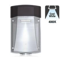 LED Wallpack Gecko 30w, 3150 Lumen, 4000K Neutraal Wit, IP65, IK08, 3 Jaar Garantie