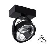 Opbouw LED Spot AR111, 15w, 800 Lumen, Dimbaar, Zwart Armatuur, 3 Jaar Garantie