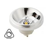 GU10 AR111 LED Spot 12w, 700-730 Lumen, 45°, Dimbaar, 2 Jaar Garantie