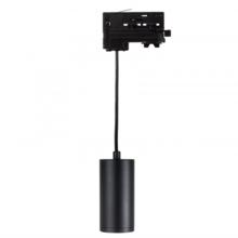 3 Fase Rail Hanglamp Zwart, Kabellengte 150cm, Met GU10 Fitting