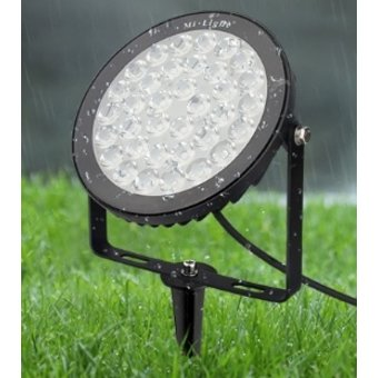 Mi-Light LED Prikspot 15w, RGB+CCT Wifi/RF, 1200 Lumen, IP65, 230v, 2 Jaar Garantie