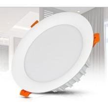 Mi-Light LED Downlighter 18w RGB + CCT, Wifi/RF, 1500 Lumen, Gatmaat 150mm, 2 Jaar Garantie