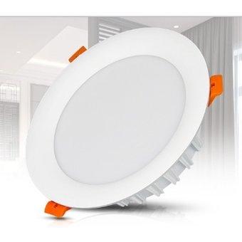 Mi-Light LED Downlighter 18w RGB + CCT, Wifi/RF, 1500 Lumen, Gatmaat 150mm, 2 Jaar Garantie