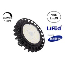 Samsung High Bay Led Ufo 100w, 14500 Lumen, IP65, Lifud Driver, Dimbaar, 5 Jaar Garantie