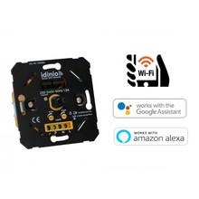 Idinio Smart WiFi Led Dimmer 0-180 Watt, Werkt via Idinio App / Google Assistant / Amazon Alexa