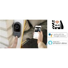 Idinio Smart WiFi Video Deurbel, Met Kleurenbeeld, Met 2-Wegs Audio,  Werkt via Idinio App / Google  / Amazon