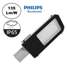 Led Straatverlichting 40w Philips LumiLeds, 5400 Lm (135lm/w), IP65, 2 Jaar Garantie