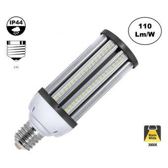 E40 Corn Lamp 54w, 5940 Lumen, 360º, IP44, 2 Jaar Garantie