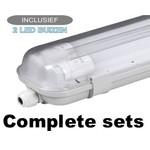 Complete LED TL Armaturen