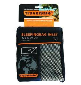 Travelsafe Katoenen binnenhoes slaapzak 2 persoons envelop