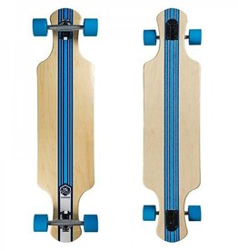 Saterno Double Down Longboard Ocean Coral licht
