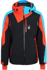 Spyder Vyper Jacket Zwart Oranje Blauw