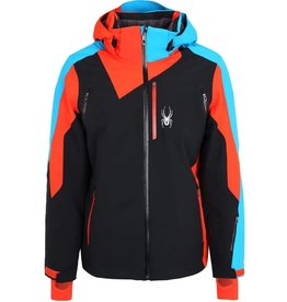 Spyder Vyper Jacket Black Orange Blue