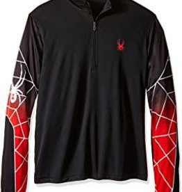 Spyder Webstrong Dry W.E.B. T Neck Black Red