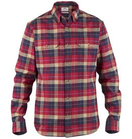 Fjall Raven Singi Heavy Flannel Shirt Deep Red