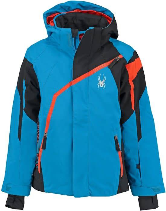 Spyder Challenger Boy's Jacket Blue Black