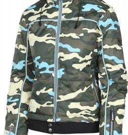 Rehall Vero Snowjacket Camo Olive Blue