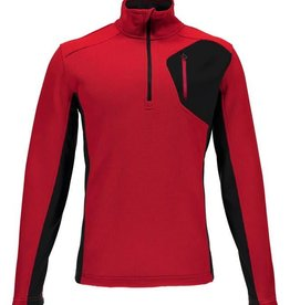 Spyder Bandit Half Zip Red/Black