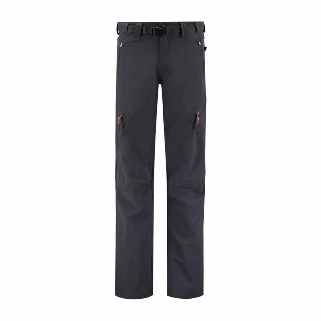 Life Line tonkin men's softshell trouser dark grey