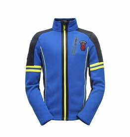 Spyder Wengen Full Zip Blue