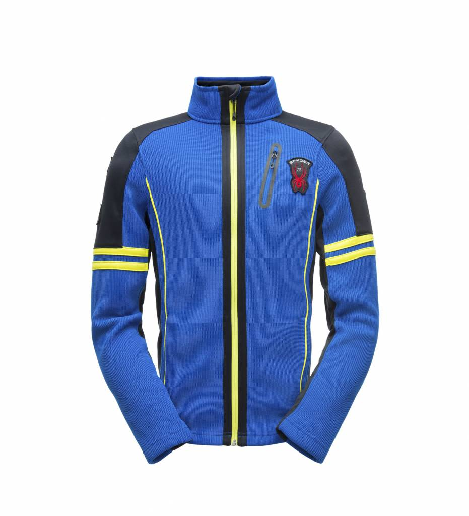 Spyder Wengen Full Zip Blue