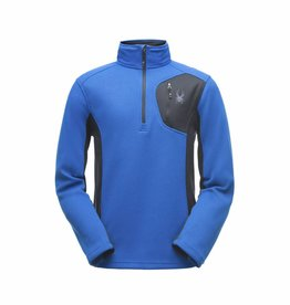 Spyder Bandit Half Zip French Blue