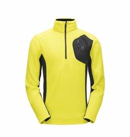 Spyder Bandit Half Zip Yellow