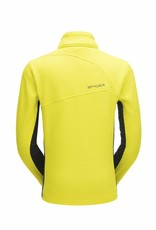 Spyder Bandit Half Zip Yellow