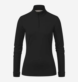 Kjus Feel Half Zip Black Melange