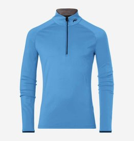 Kjus Feel Half Zip Aqua Marine Blue