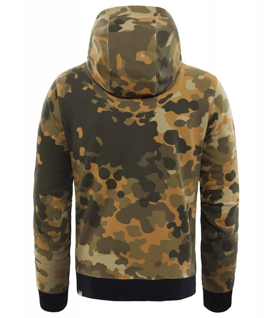The North Face Drew Peak Pull Over Hoodie Camo