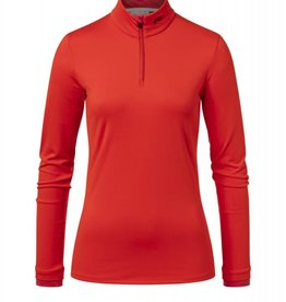 Kjus Feel Half Zip Red