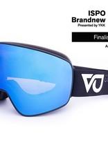 Vertical Unit Blaze Black Smoke Polarized Revo Blue