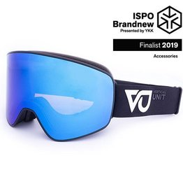 Vertical Unit Blaze Black Smoke Polarized Revo Blue