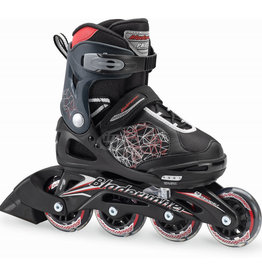 Rollerblade Phaser Black Red