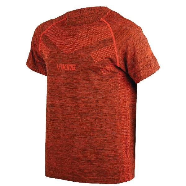 Viking Flynn Short Sleeve Top Orange