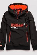 SuperDry SnowTech Half Ziphood Flat Black