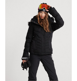 SuperDry Luxe Snow Puffer Onyx