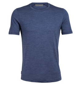 Icebreaker Mens Sphere SS Crew Estate Blue