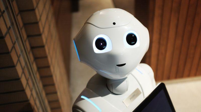 Een robot achter de receptie, toekomstmuziek?